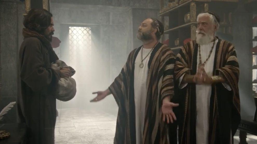 El pueblo de Judea espera expectante la aparición de Jesús en la festividad | Jesús