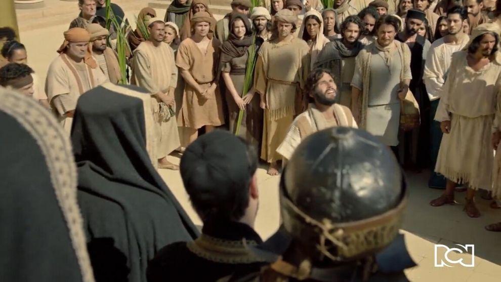 Jesús | Capítulo 76 | En medio de ramos, el Mesías habla de su futura muerte