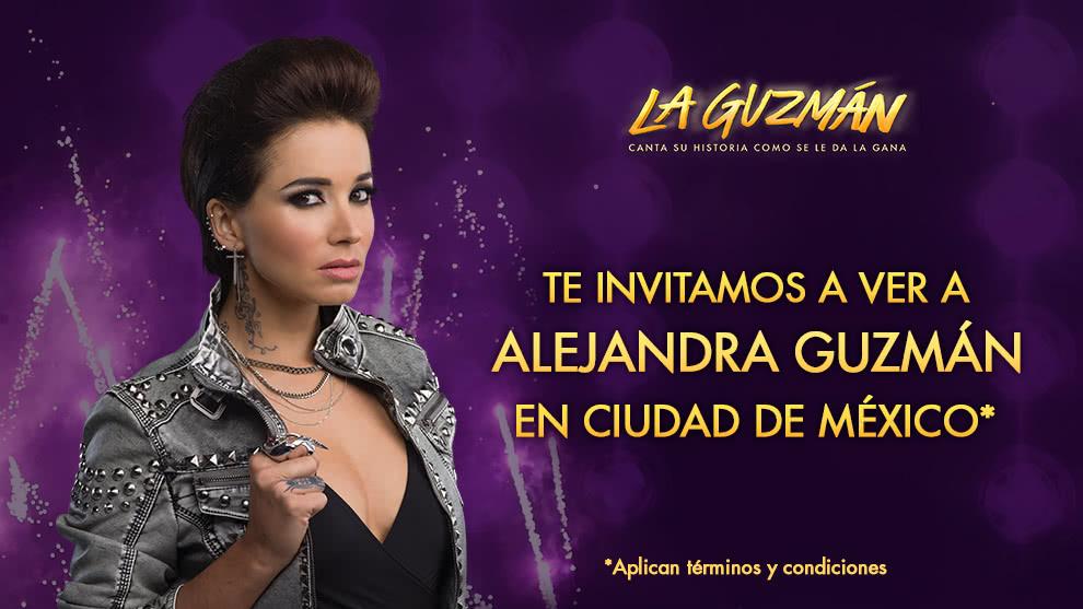 ¡Te invitamos a ver a La Guzmán en México!