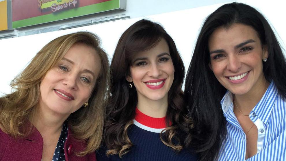 Alejandra Borrero es Adela Zambrano en La Ley De Corazón