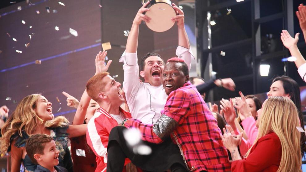 Capítulo 9 de septiembre - Gran final, Píter Albeiro se convirtió en el gran ganador de Masterchef Celebrity