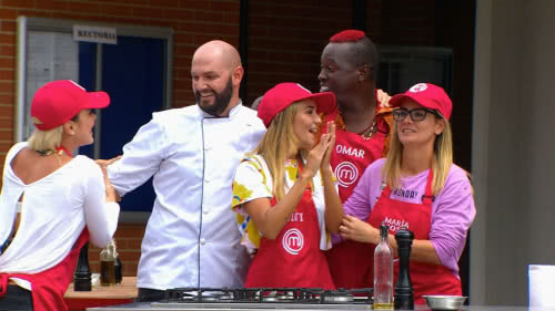 El equipo rojo ganó en MasterChef Celebrity