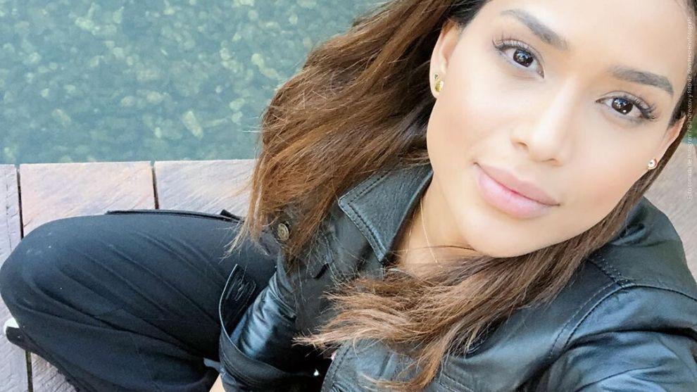 Andrea Tovar, exreina nacional de belleza 2016.