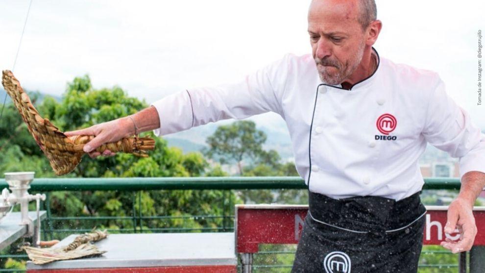 Diego Trujillo, participante de MasterChef Celebrity.