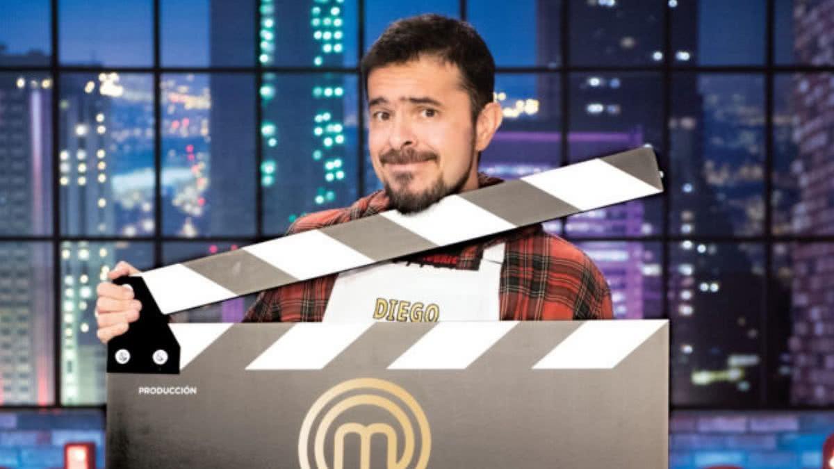 Diego Camargo llega a MasterChef Celebrity con otras profesiones un tanto exóticas