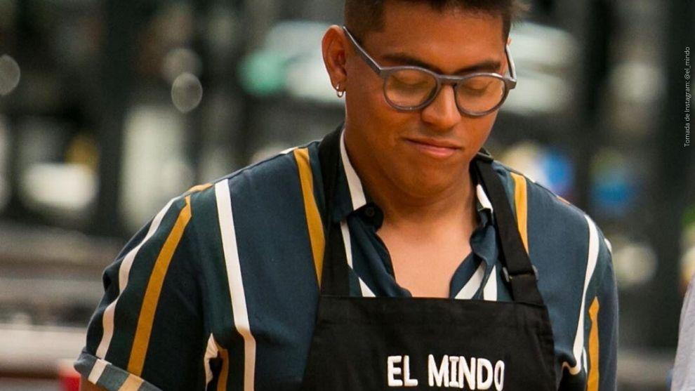 El Mindo durante su paso por MasterChef Celebrity.