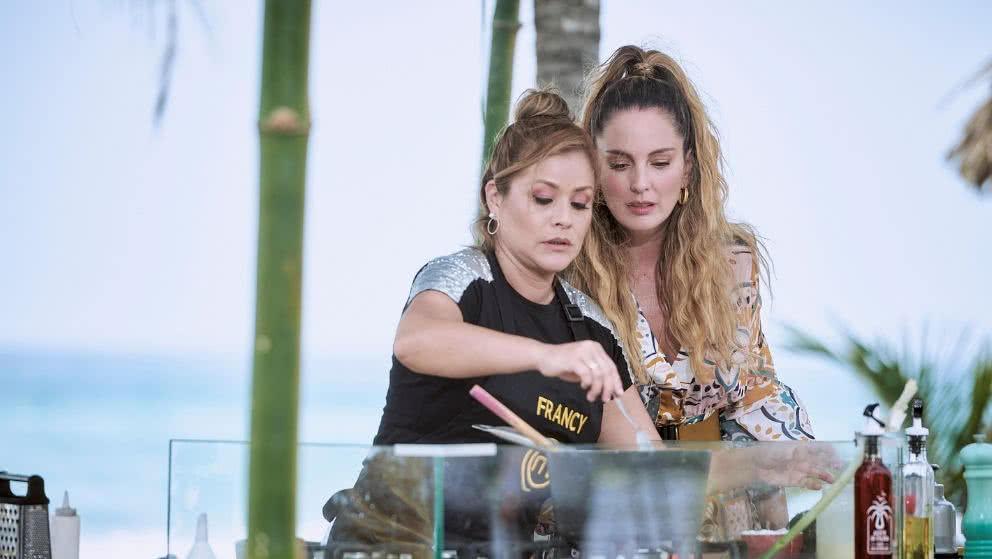 Claudia Bahamón y Francy