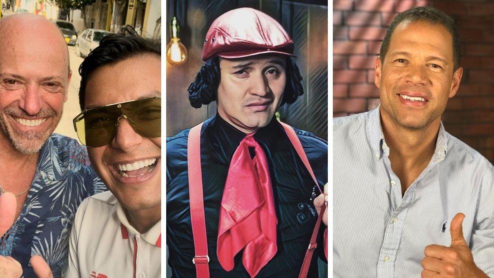 Los hombres que lucharán por ser el nuevo MasterChef Celebrity Colombia