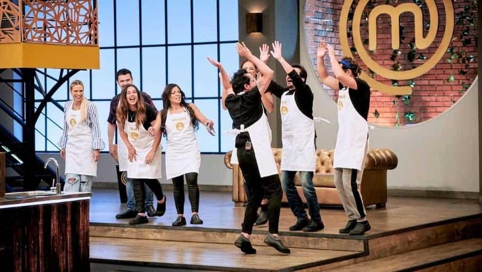 Los 10 mejores cocineros celebran con una coreografía