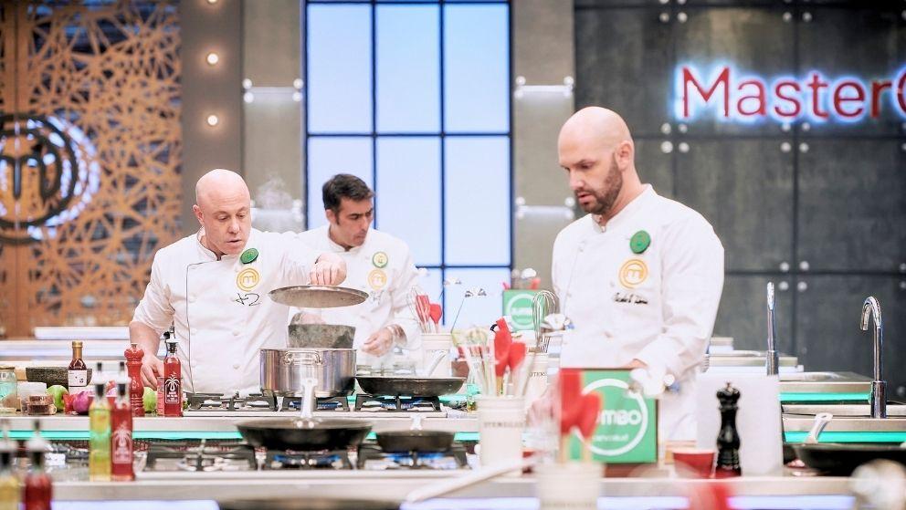 Chris, Nico y Jorge cocinaron en MasterChef Celebrity.