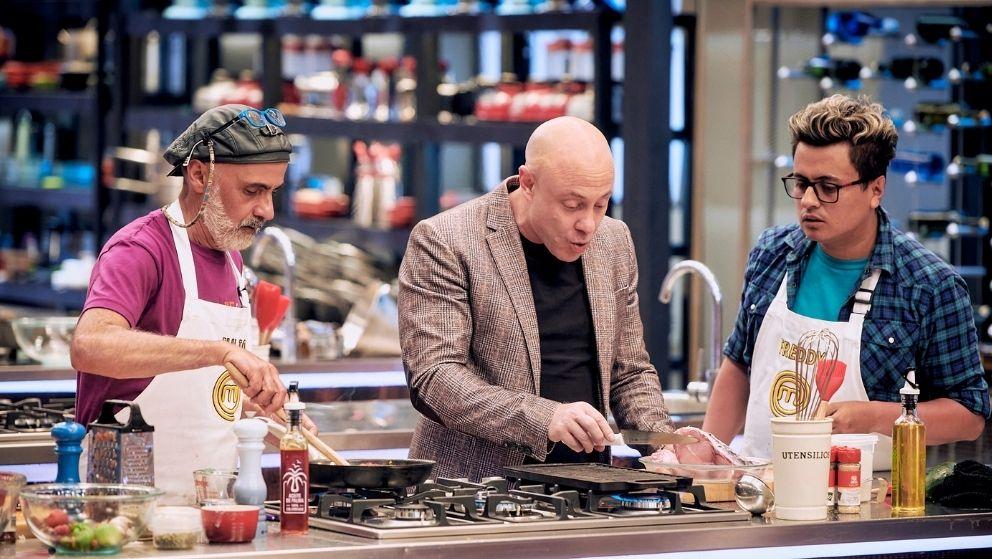 Jorge Rausch un chef paciente para enseñar