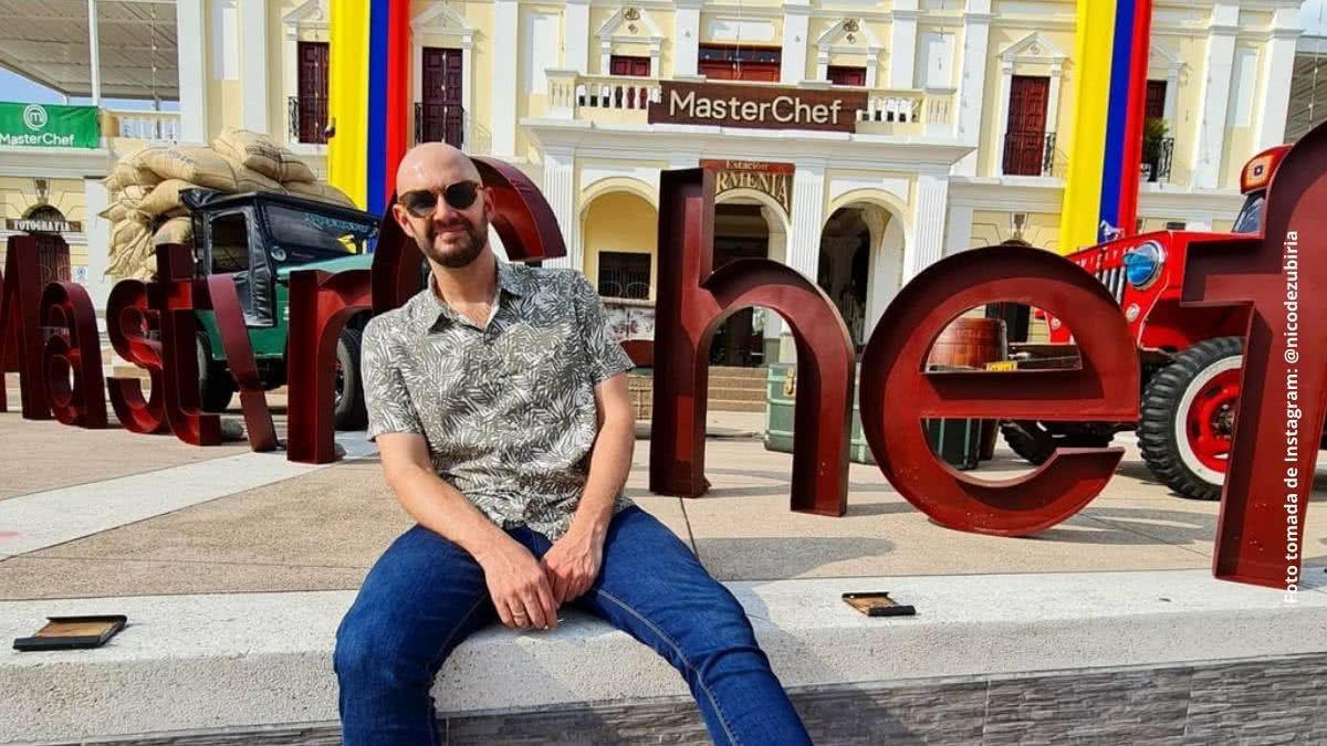 Nicolás de Zubiría agradece con cariñosas palabras a un amigo de MasterChef