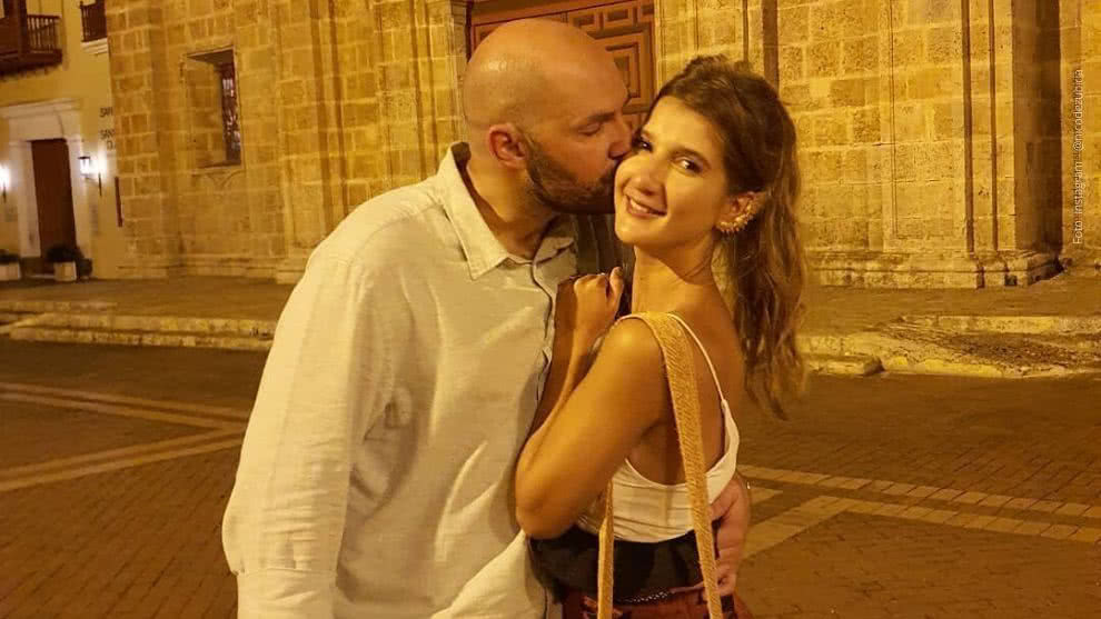 Nicolás de Zubiría, enamorado de Daniela Vidal.