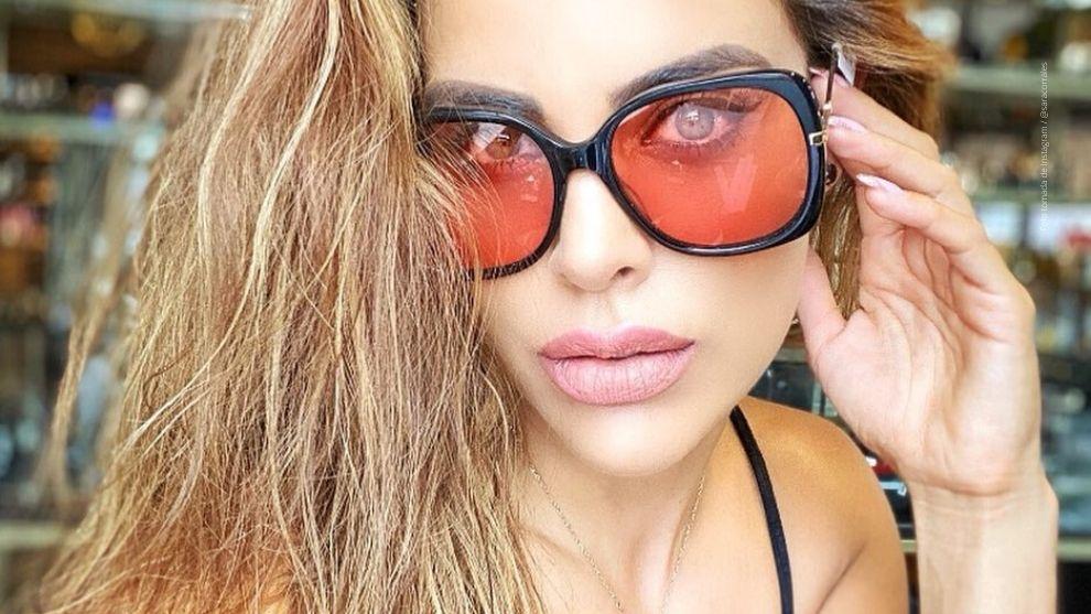 Sara Corrales comparte sensuales imágenes en Instagram