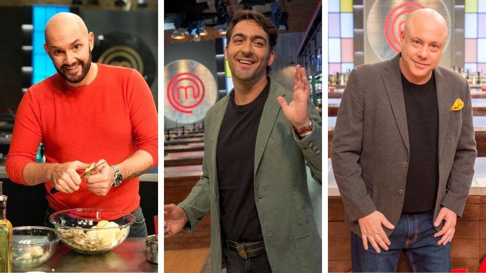 Tres jurados de lujo formarán al próximo MasterChef Celebrity Colombia