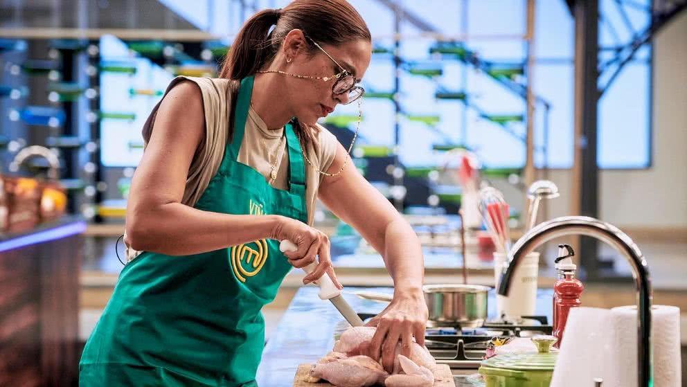 MasterChef Celebrity: El bello gesto que Viña Machado tiene con Lorna Cepeda en pleno reto de eliminación