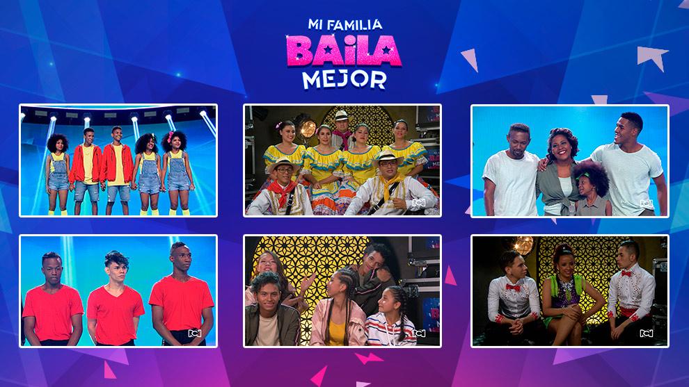 Seis familias más dejaron su talento en el escenario de Mi Familia Baila Mejor