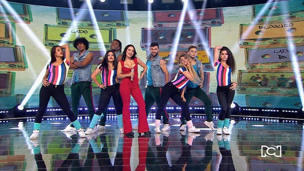 La reina de las redes sociales en Colombia estuvo en Mi Familia Baila Mejor