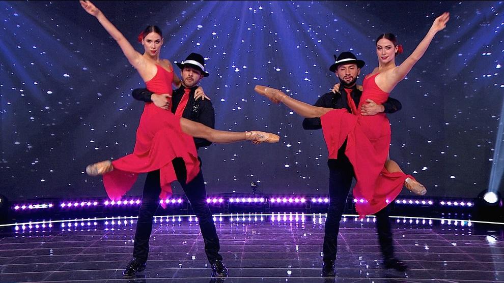 Las Mellas dejaron ver todo su talento con una grandiosa exhibición de tango