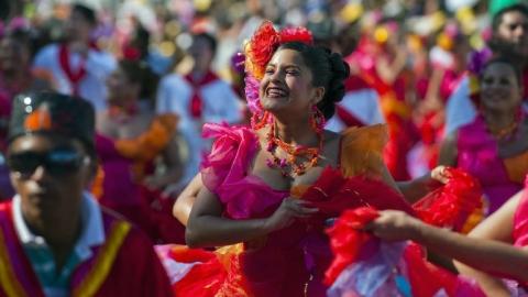 Joropo, cumbia y hasta mapalé entre los bailes más típicos colombianos
