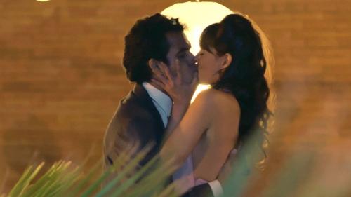 Alberto y Sandra volvieron a vivir su idilio de amor
