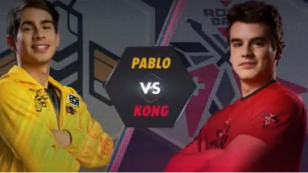 Duelo de titanes, Pablo vs Kong