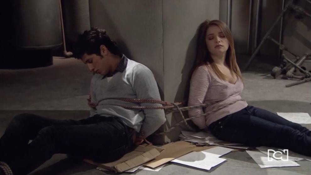 Lucia y Camilo estan a punto de morir