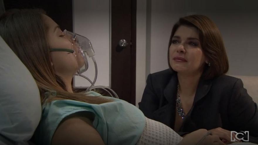 Lucia es hospitalizada