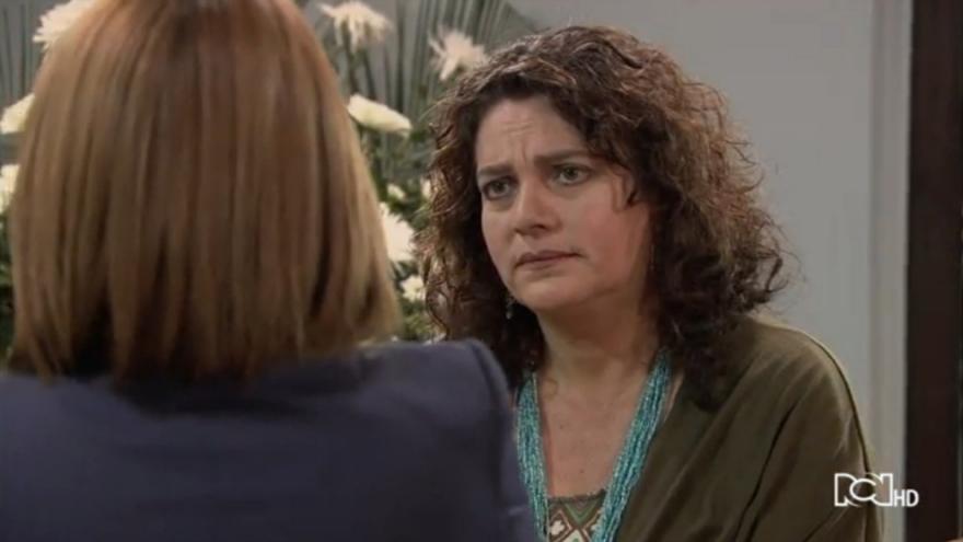 Sara le cuenta la verdad a Socorro
