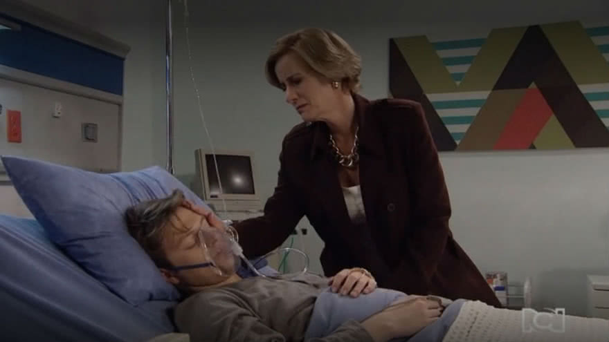 Rodrigo sale del hospital