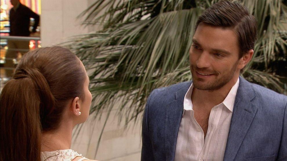 El encuentro entre Verónica y Felipe