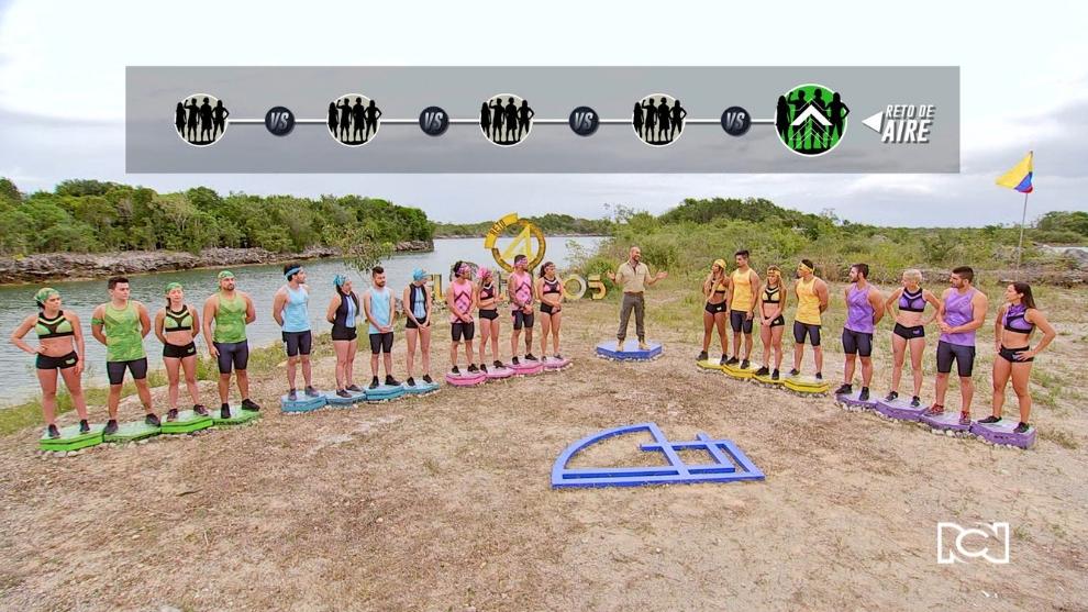 Capítulo 3 – Los maestros de los 4 Elementos se enfrentan al Aire ¿Qué equipo será el vencedor?