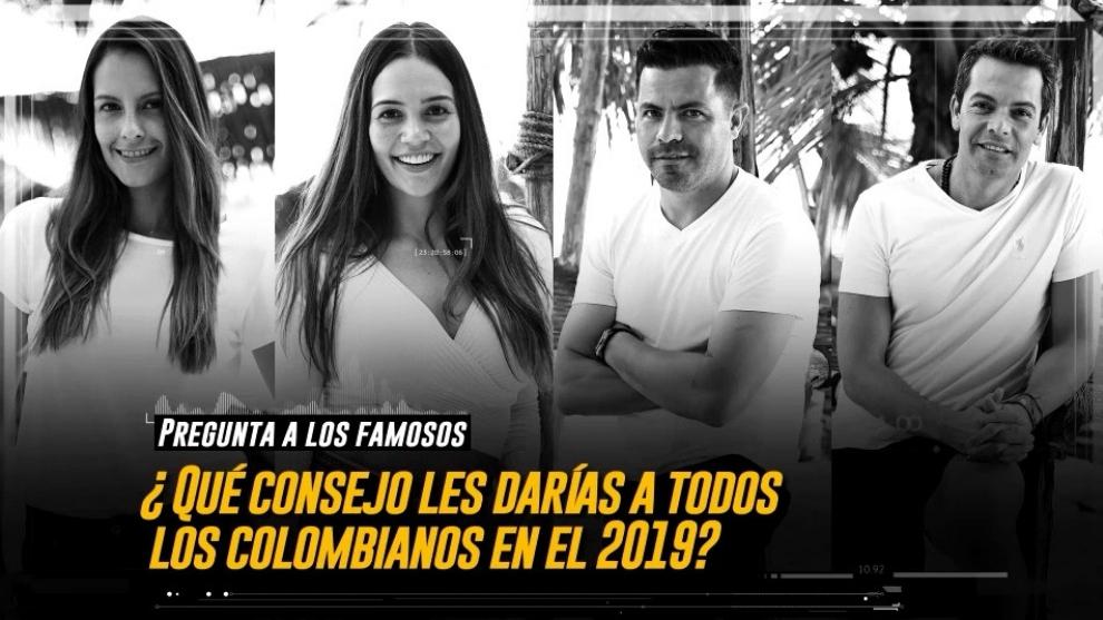 famosos invitados a reto 4 elementos colombia