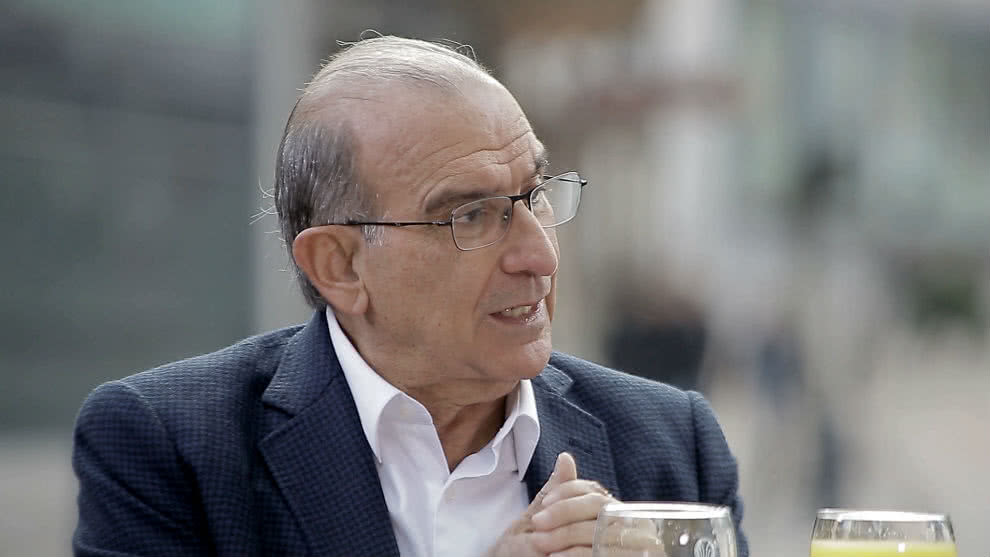 Humberto de La Calle, candidato a la Presidencia de Colombia