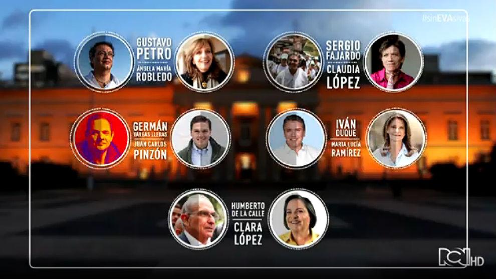 ¿Los colombianos conocen las fórmulas vicepresidenciales?