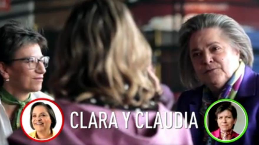 Los candidatos a la Vicepresidencia se detaparon con Eva Rey