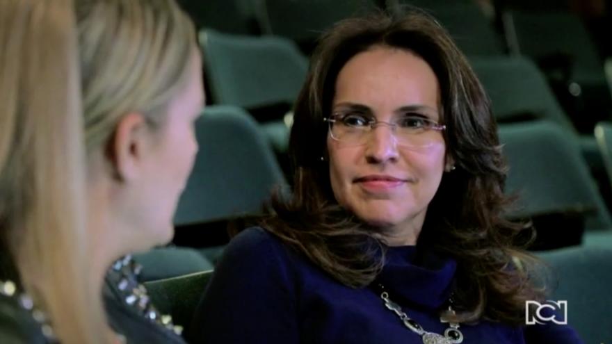 Viviane Morales, la mujer que soñó con la presidencia