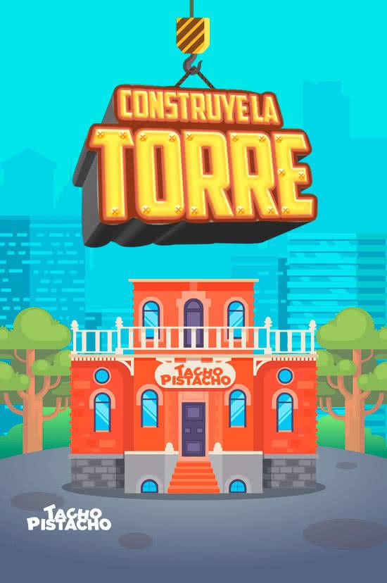 Juegos Tacho Pistacho - Construye la torre
