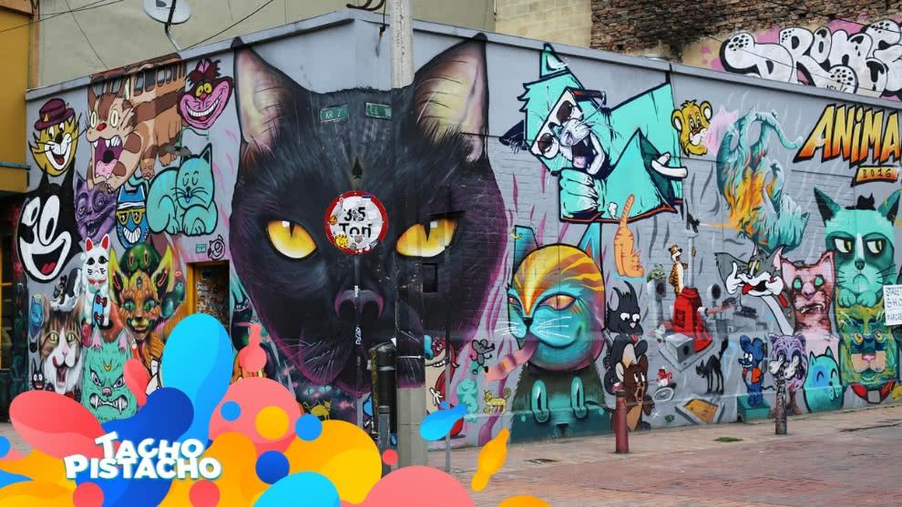Tacho Pistacho - El grafiti y un mundo fascinante lleno de colores