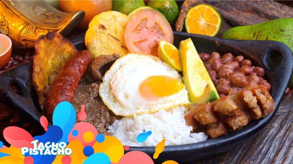 Mi top 5 de comidas típicas de Colombia