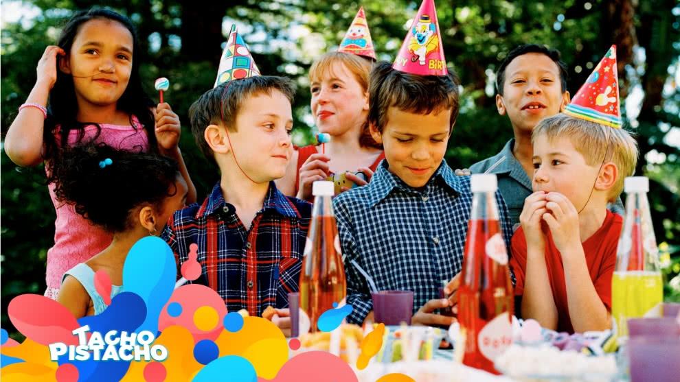 Tacho Pistacho - Junto con mis amigos organizamos una fiesta de cumpleaños
