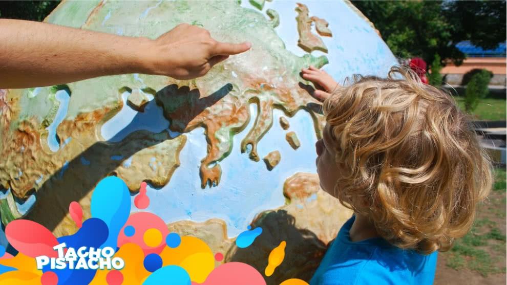 Tacho Pistacho - Geografía y una manera divertida para aprender sobre el mundo