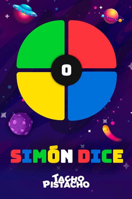 Juegos Tacho Pistacho - Simón Dice