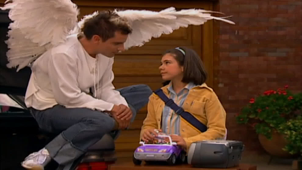 Capítulo Un Ángel llamado Azul - Abril llega al orfanato