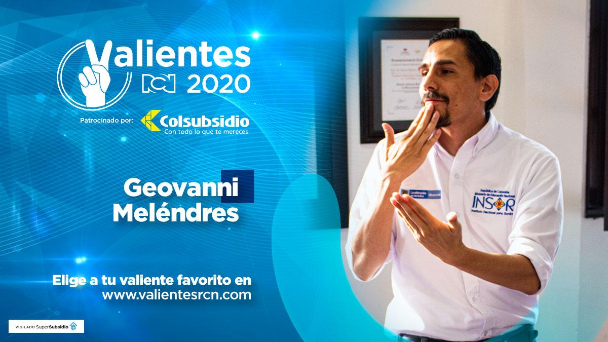 Geovanni Meléndres, el mejor funcionario público del país