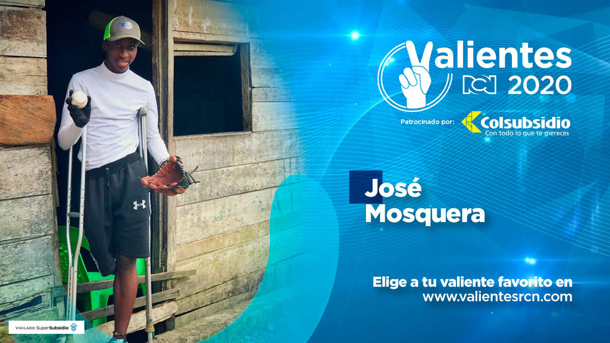 José Mosquera, deportista ejemplar de Chocó