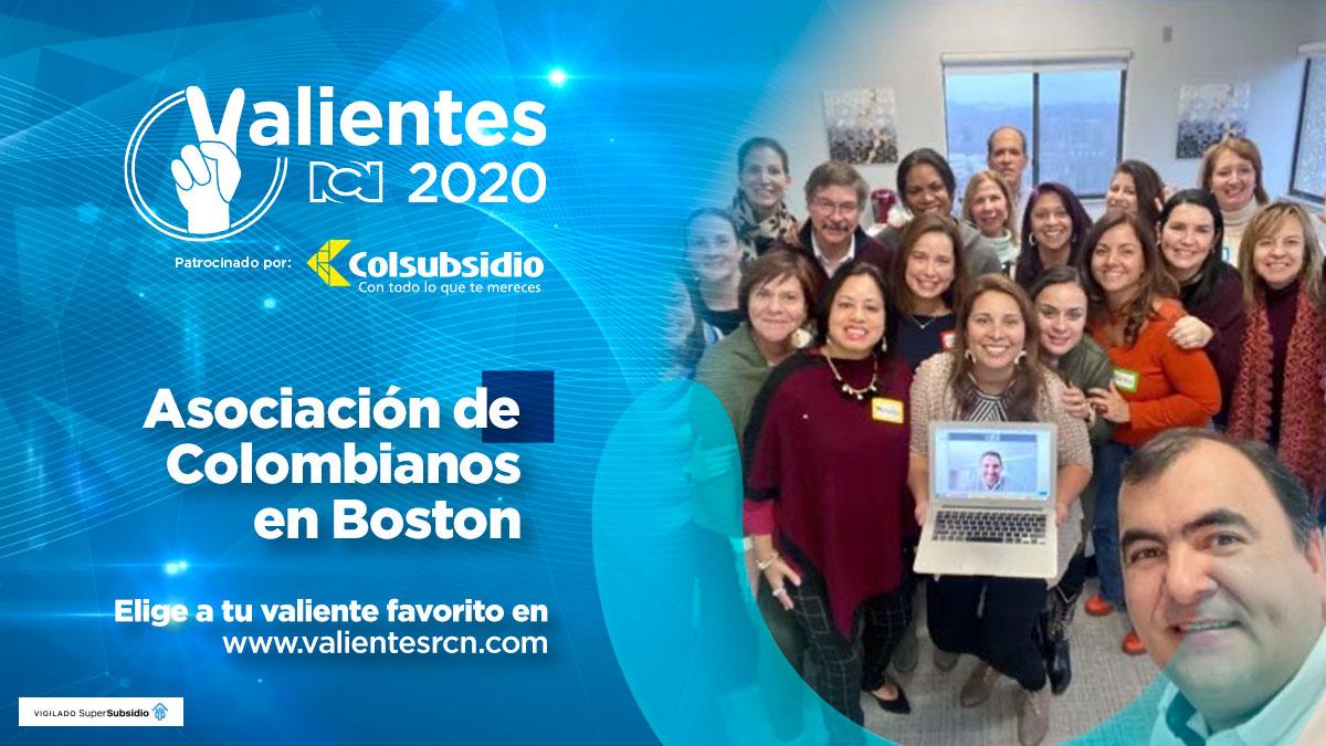 Asociación de colombianos en Boston
