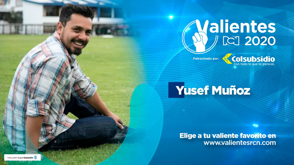 Yusef Muñoz, donante de prótesis