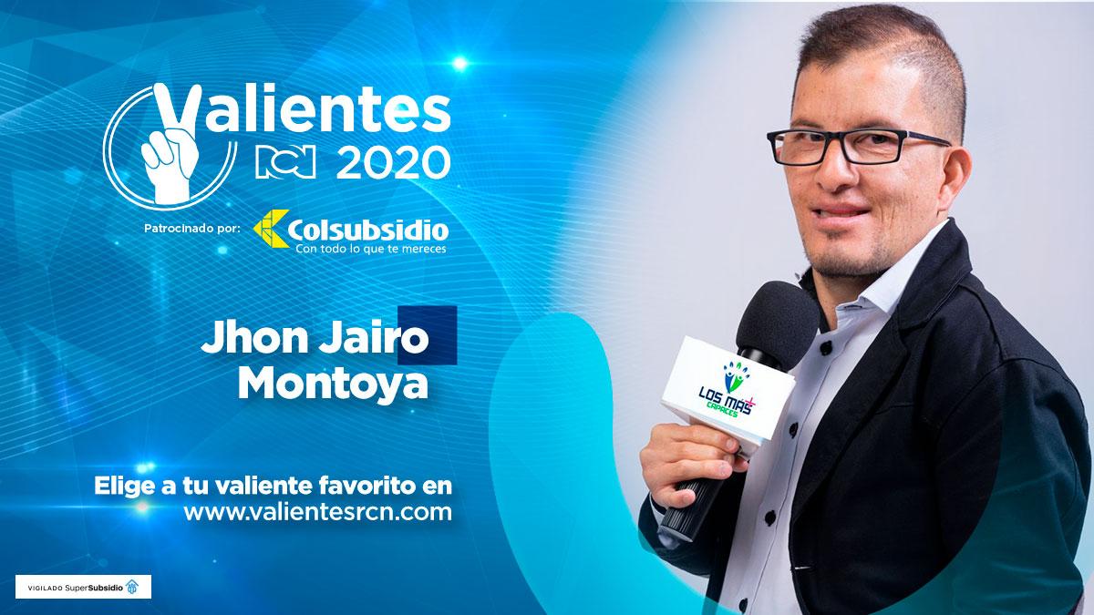 Jhon Jairo Montoya, periodista especial