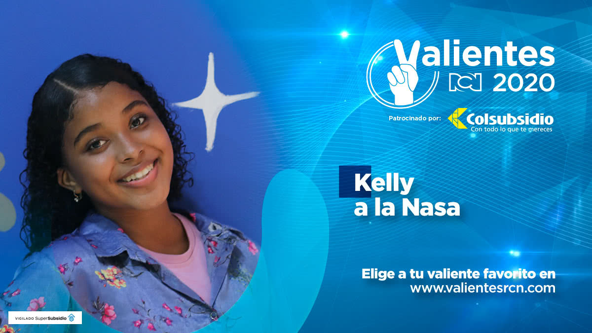 Kelly y Yorleidy, valientes niñas a la NASA